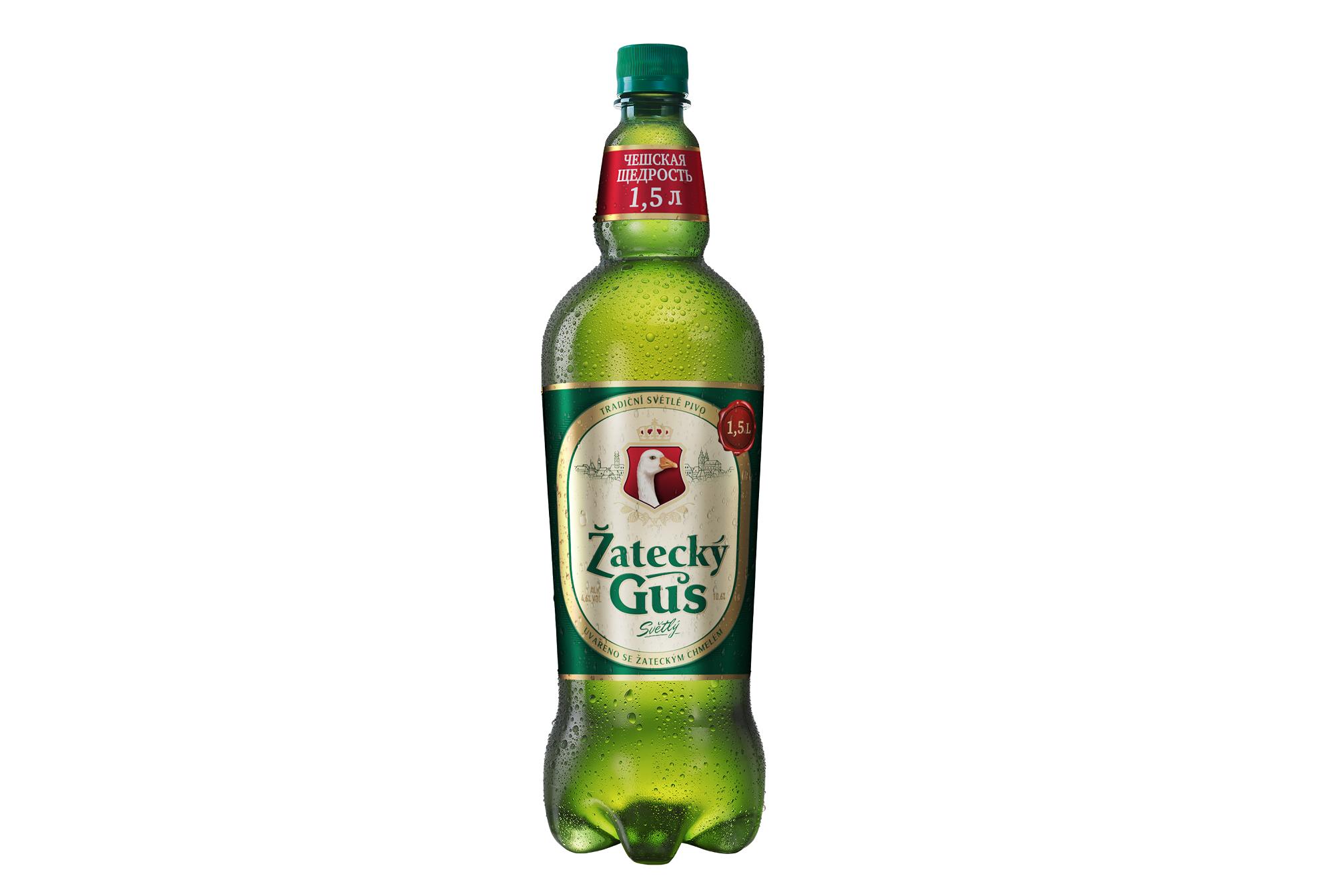 Россия. Žatecký Gus – объем увеличивается, цена сохраняется