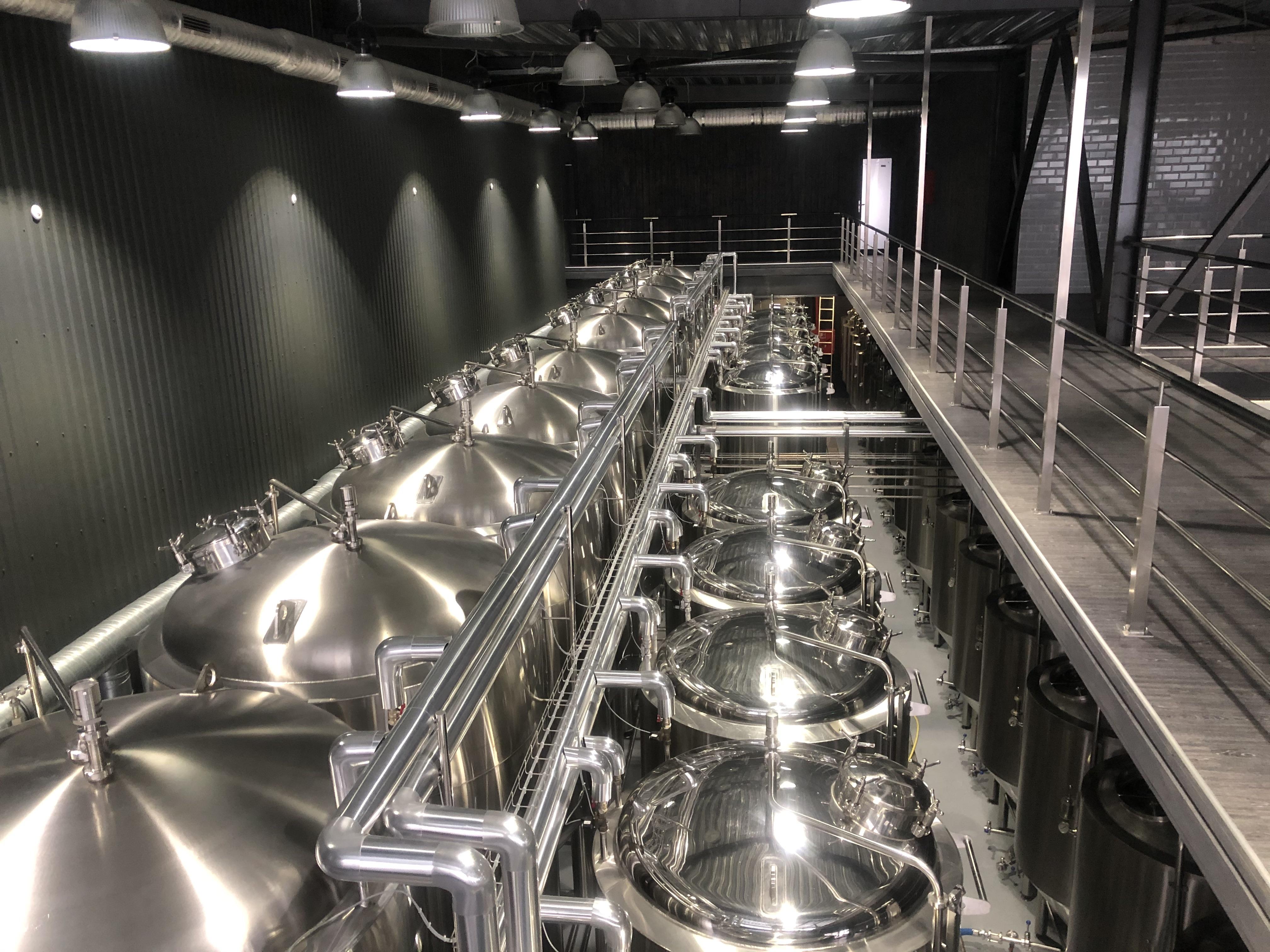 Расширение пивоварни «ЦИПА»