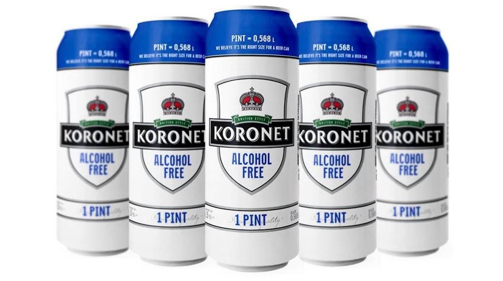 Беларусь. «Лидское пиво» расширило линейку безалкогольным сортом Koronet Alcohol Free