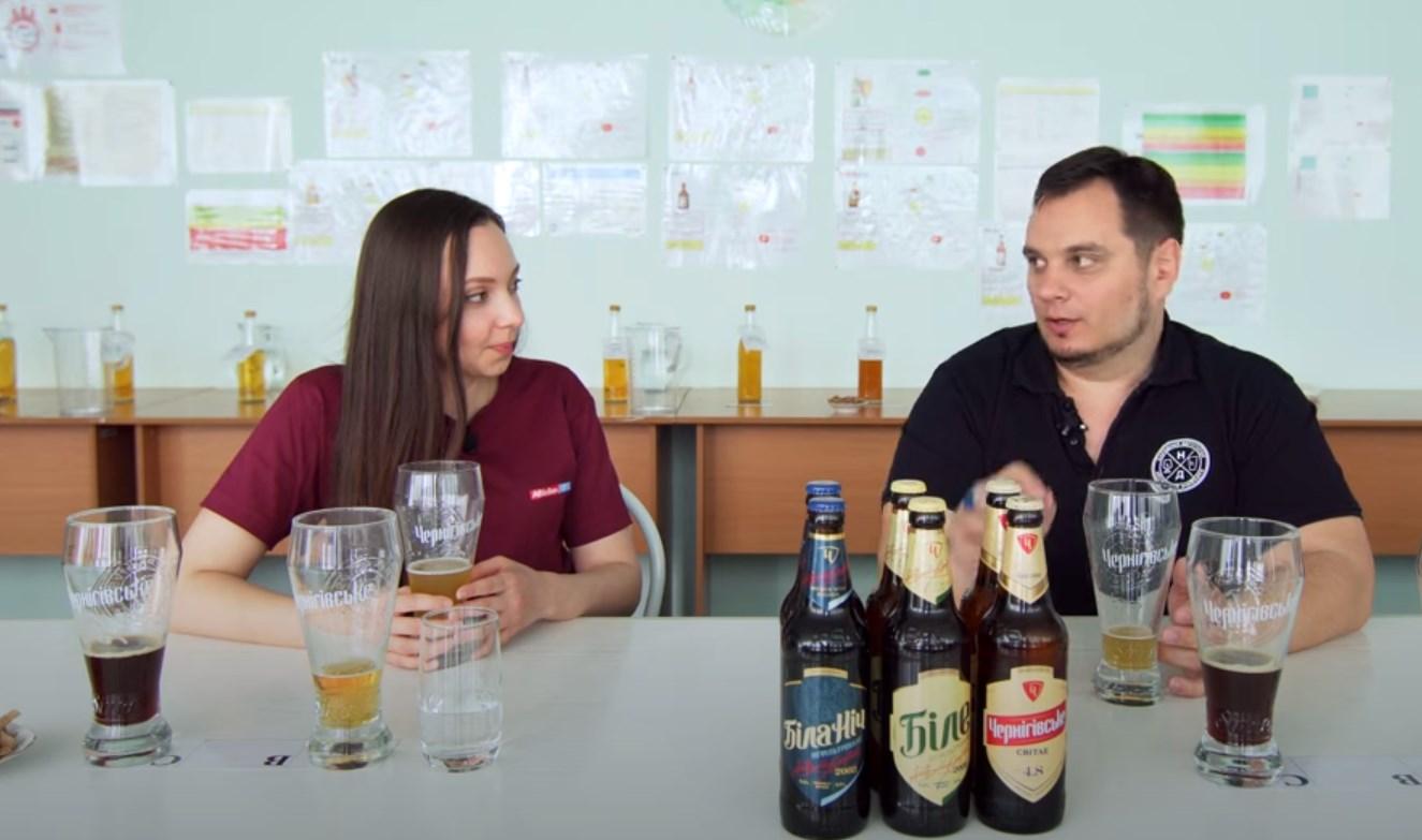 «Народный дегустатор» изучил производство и распробовал пиво черниговского пивзавода