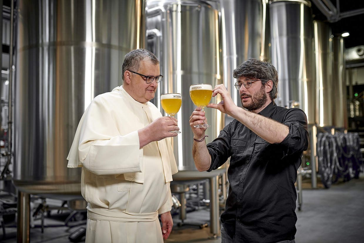 Пивоварение возвращается в Аббатство Гримберген впервые более чем за 200 лет