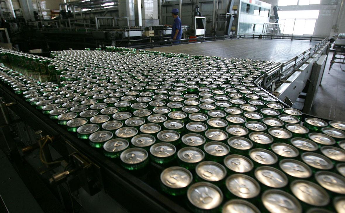 Nielsen сообщил о подешевевшей банке пива в России