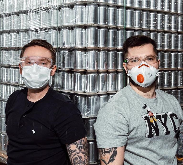 Украина. В разгар карантина в Киеве запустят пивоварню 2085 на арт-заводе «Платформа»