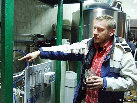 В Житомире открылась частная пивоварня «Генрих Шульц»