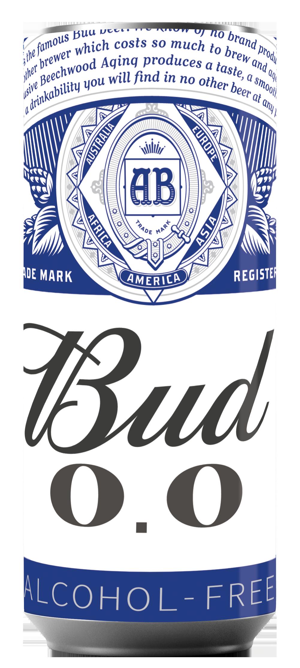 AB InBev Efes представила обновленный дизайн легендарного BUD Alcohol Free