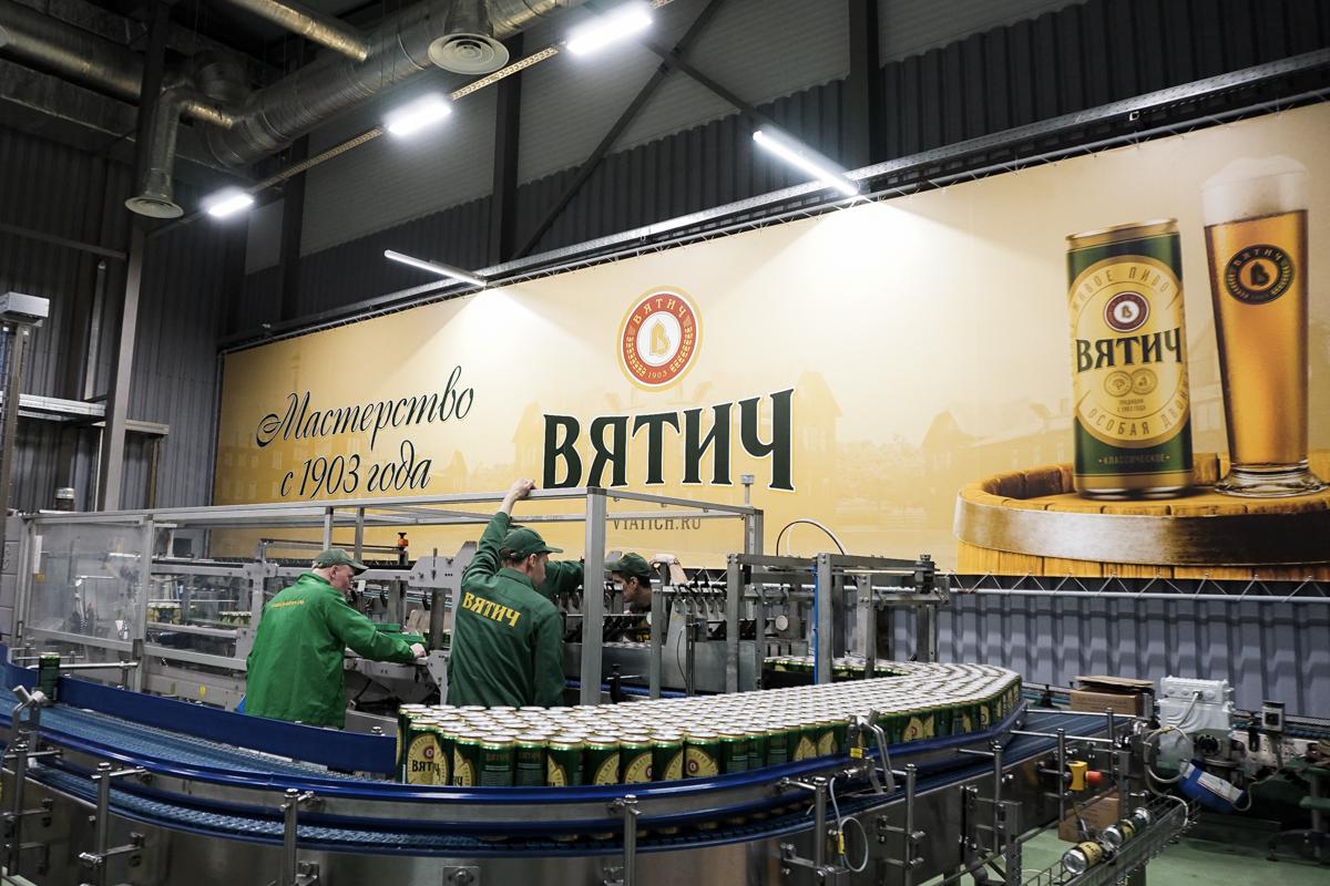 "Россия. ""Вятич"" начал розлив пива в банки"