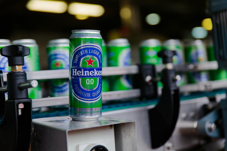 В России выпустили безалкогольный Heineken