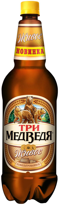 Россия. Heineken расширяет линейку пива «Три медведя»