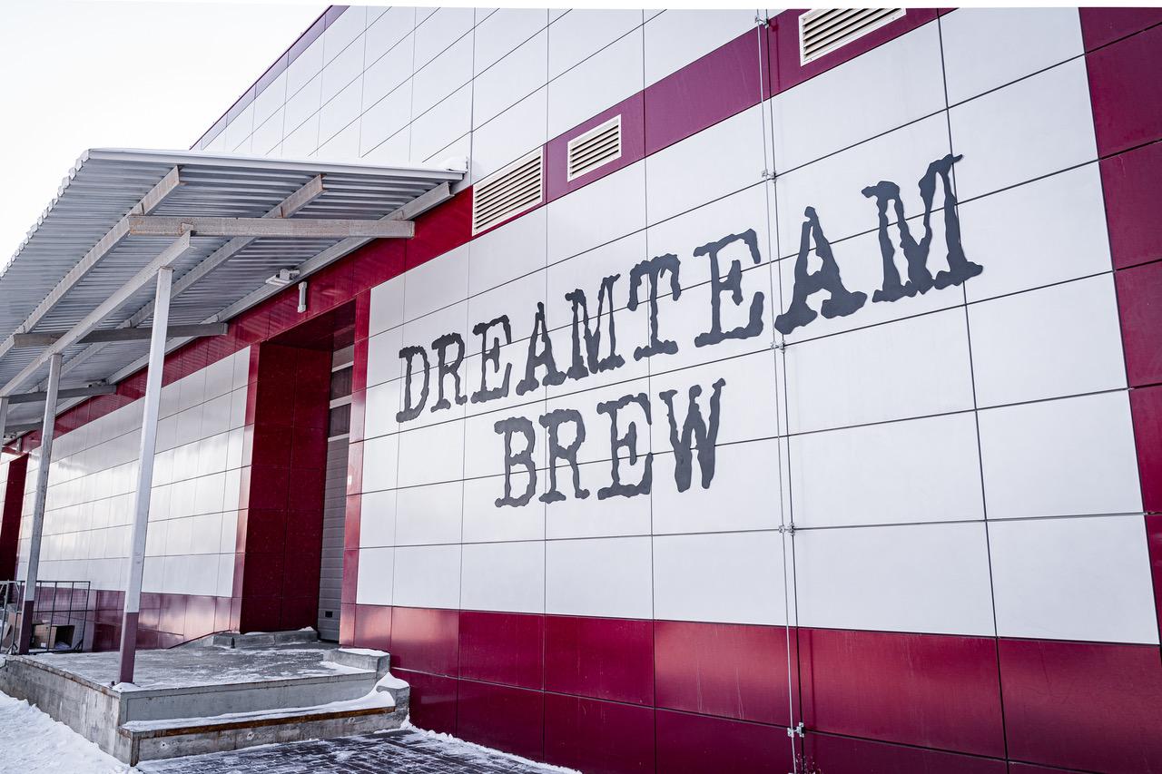 Россия. У Dreamteam Brew появилась собственная пивоварня