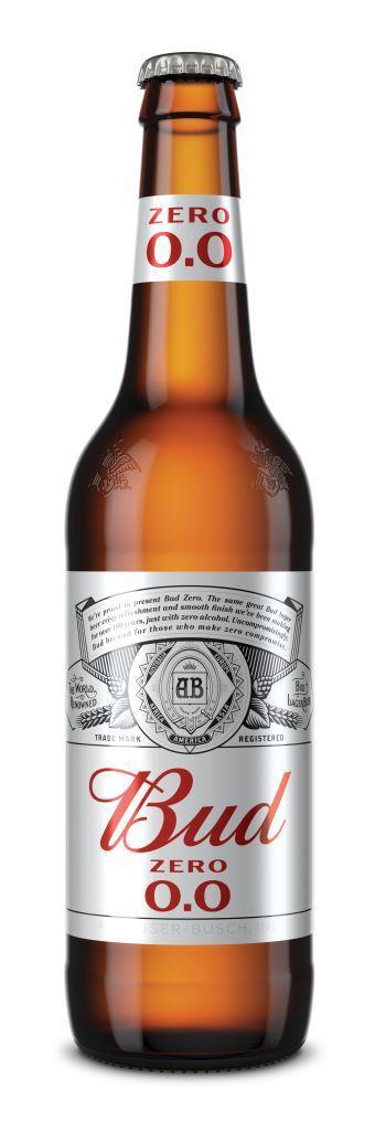 AB InBev Efes Украина запускает безалкогольное пиво Bud Zero