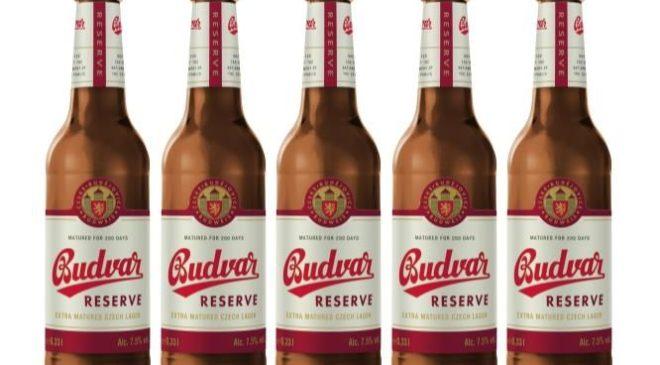 Budweiser Budvar перезапускает свое крепкое пиво под названием Budvar Reserve
