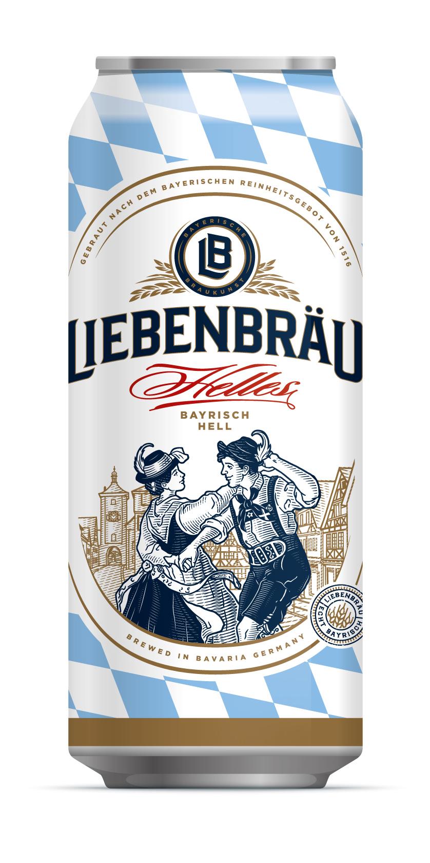 SuperBeer представляет на российском рынке баварский хель Liebenbräu