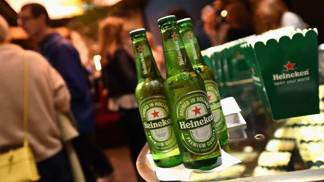 Чистая прибыль Heineken выросла благодаря продажам титульного бренда