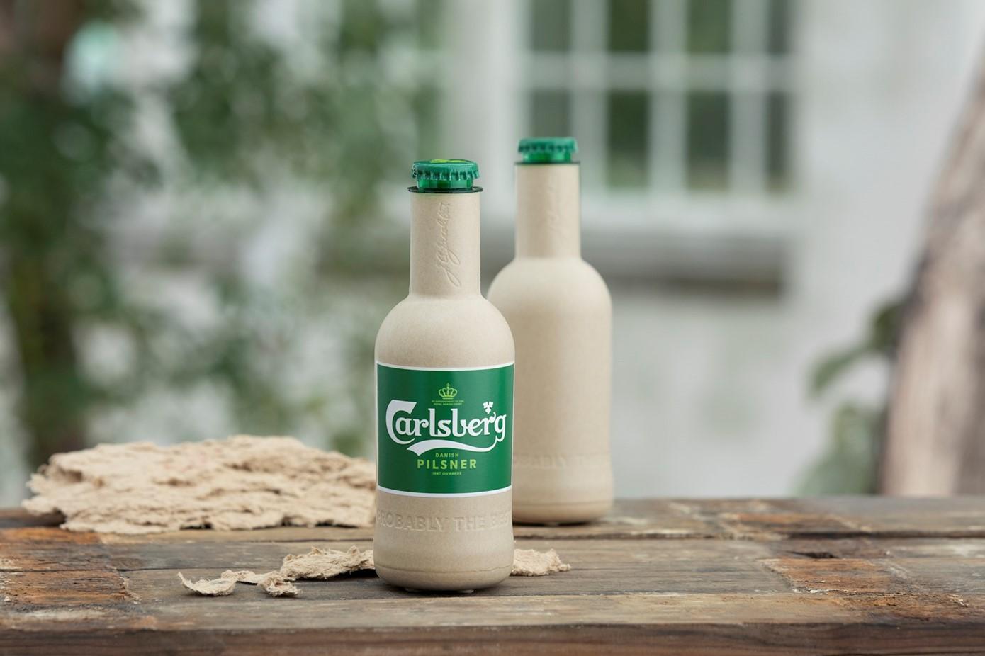 Carlsberg Group представила экспериментальные образцы бутылок из эковолокна