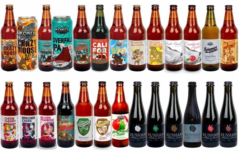 Carlsberg купил 75% российской крафтовой пивоварни Konix Brewery